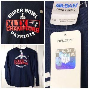 NWT Official NFL Super Bowl XLIX Tee